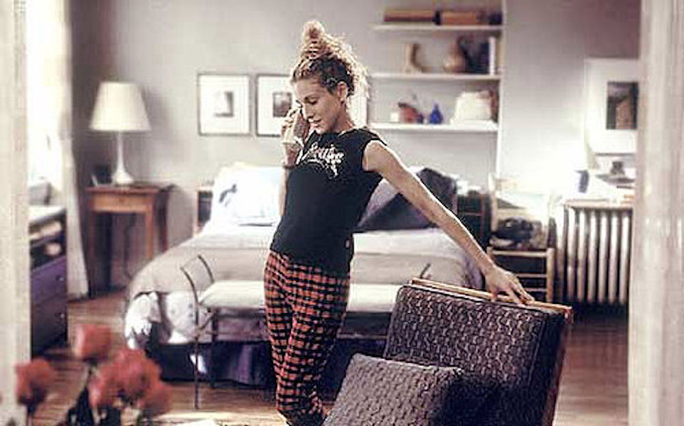 Great Job + Apartment + Companion Carrie Bradshaw